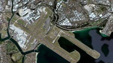 Aircraft Pavement - A380 Airfield Works, Sydney Airport img 1